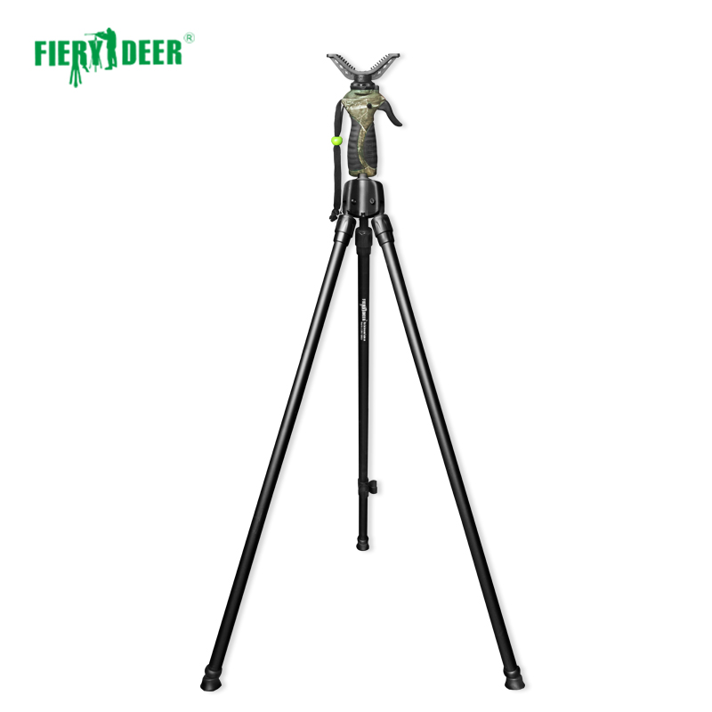 NEW FieryDeer DX 004 02Gen4 180cm trigger Twopod camera scopes binoculars hunting stick shooting sticks