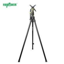 Новый FieryDeer DX-004-02Gen4 180 см триггер Twopod камера увеличительные бинокли Охота stick стрельба Щупы для мангала