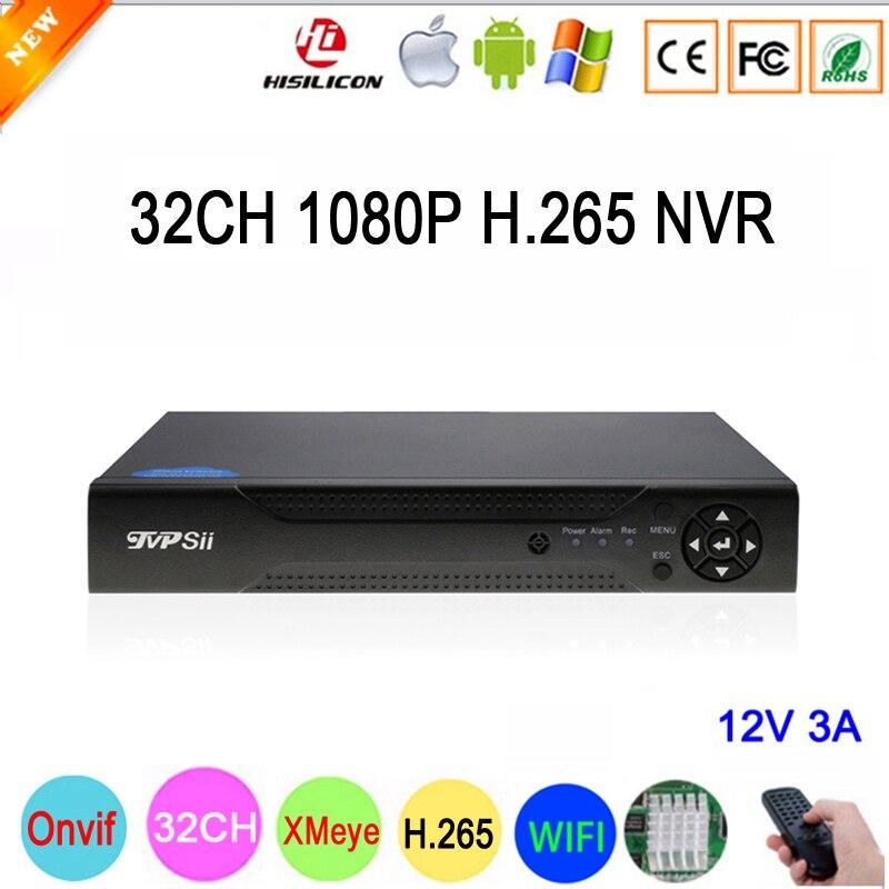Hi3536C XMeye 8CH * К 4 к/25CH * 5MP/32CH * 1080 P видеонаблюдения Видео регистраторы 32CH 32 канала P 1080 P IP Onvif Wi Fi CCTV NVR Бесплатная доставка