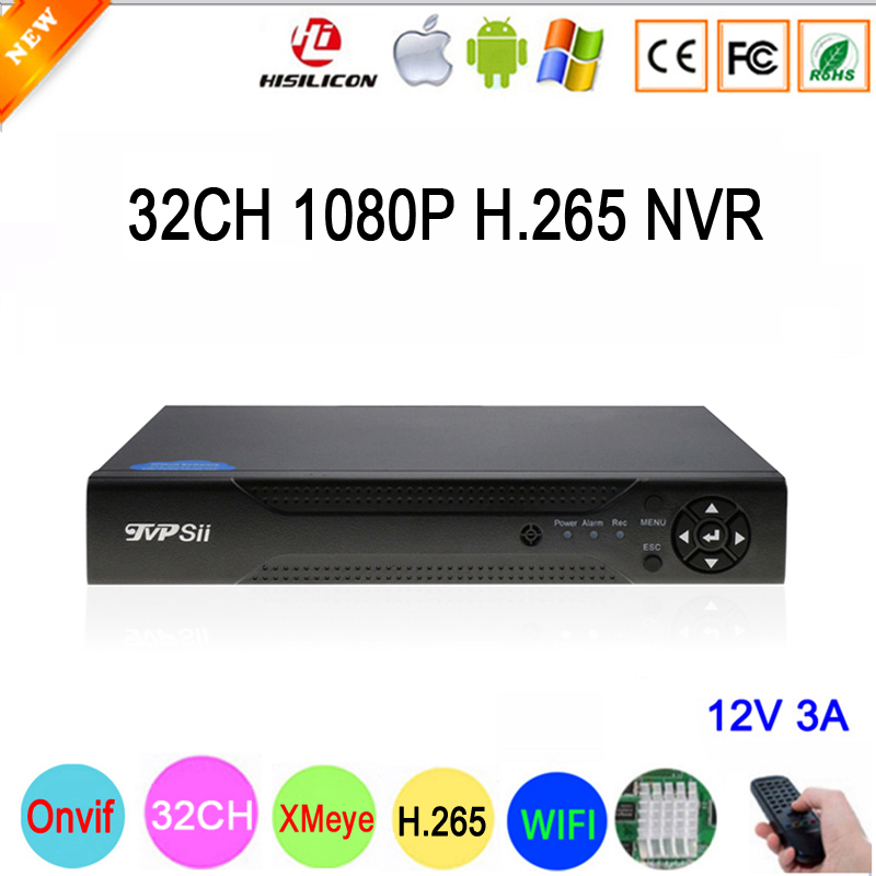 Hi3536C XMeye 8CH * 4 к/25CH * 5MP/32CH * 1080 P видеорегистратор 32CH 32 канала ONVIF, Wi-Fi P IP 1080 CCTV NVR Бесплатная доставка