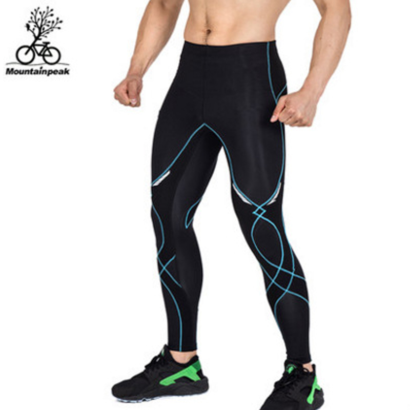 Mountainpeak Cycling Running Tights Pants Bike Bicycle Quick Dry Breathable Long Pants Mountaineering Yoga Marathon Sportswear