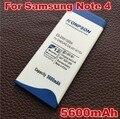 EB-BN910BBE 5600 мАч Для Samsung Galaxy Note 4 Батареи N910H N910A N910C N910U N910FQ N910F N910X N910W N910V N910P N910T примечание
