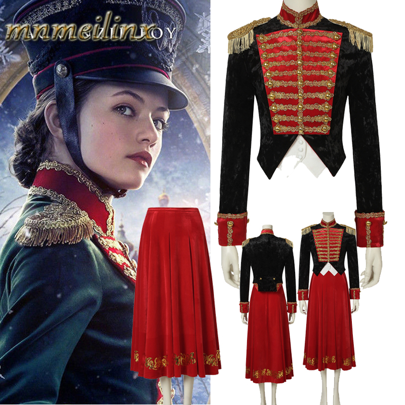 Detail Feedback Questions about Stage Clothes The Nutcracker and the Four  Realms Cosplay Clara Costume Uniform Dress Halloween Carnival Customize  Free ... 4c5419be4364