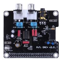 PCM5122 HIFI DAC Audio Sound Card Module I2S 384KHz With LED Indicator For Raspberry Pi B