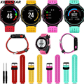 Replacement Silicone Strap Watchbands for Garmin Forerunner 235 630 230 GPS Watch