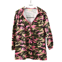 Hot Selling 2016 New Arrival Women Fashion Red Camouflage Jacket Summer Tide Male Hooded Thin Sunscreen Coat Wholesale