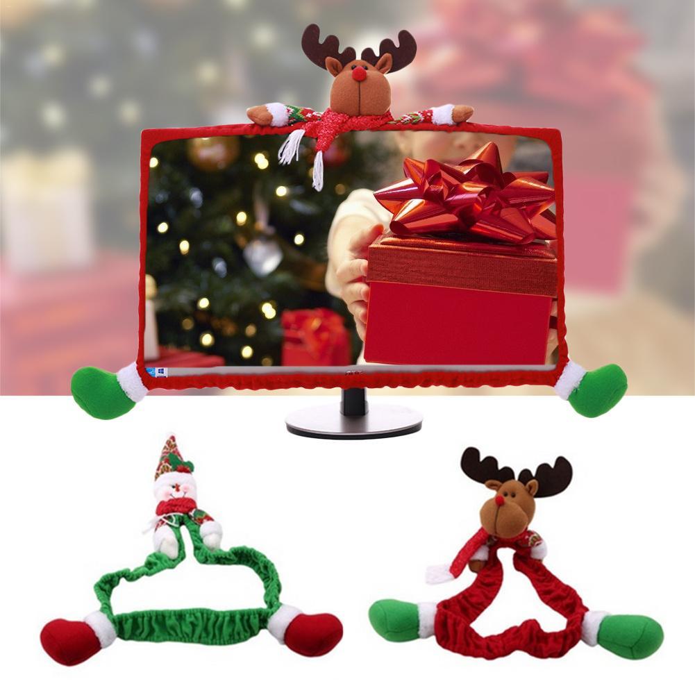 Christmas Decorations Ideas For Hotels: Christmas Decoration Innovative Cartoon Computer Display