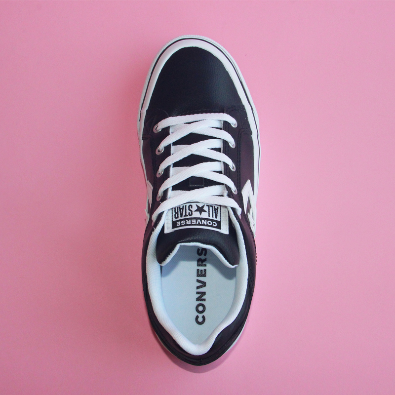 2019 NEW CONVERSE men's and women's shoes star arrow casual wear resistant sneakers PU leather Skateboarding Shoes 161608C-in Skateboarding from Sports & Entertainment    3