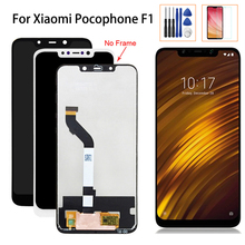 Original 6.18 LCD Display For Xiaomi Pocophone F1 Touch Screen Digitizer Mi Poco Assembly