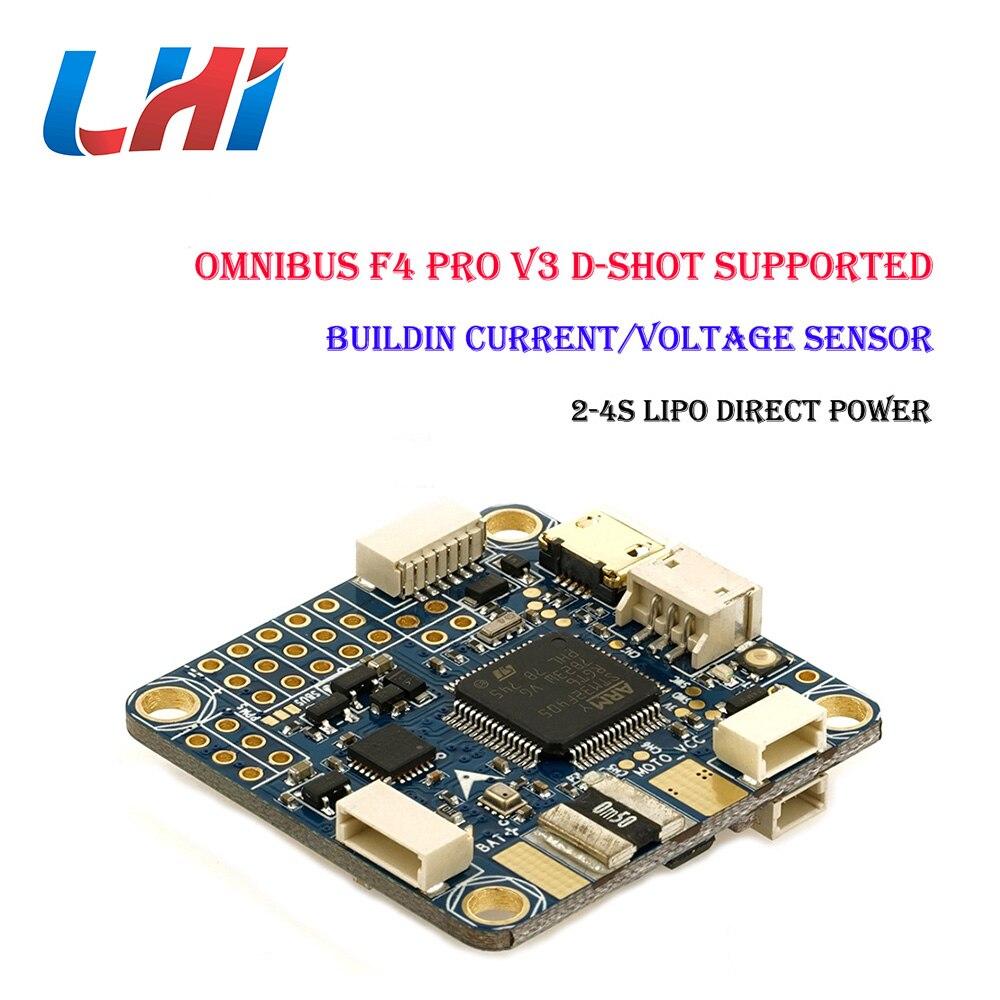 LHI Omnibus F4 pro V3 Flight controller Airbot Authentische drohnen mit rc flugzeug für Kamera controlador hubschrauber für FPV Quadcopt