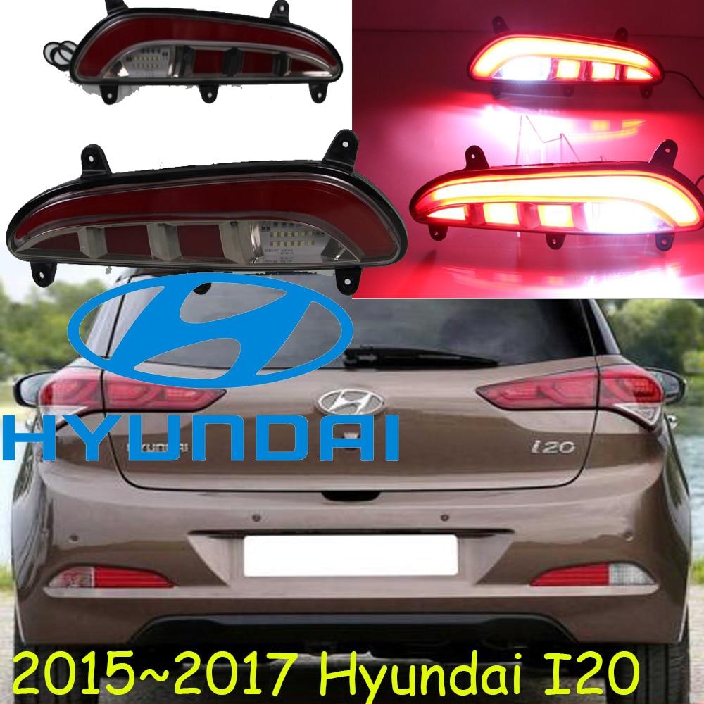 Hyundau i20 rear light,Free ship!LED,2015~2017,i20 fog light,Genesis,Entourage,Tucson,Santa Fe,ix45,sonata,i20 taillight,i 20 i20