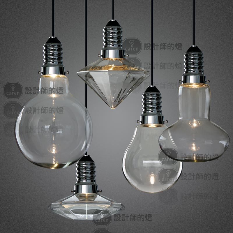 Buy led 3w modern creative glass pendant for Designer lighting