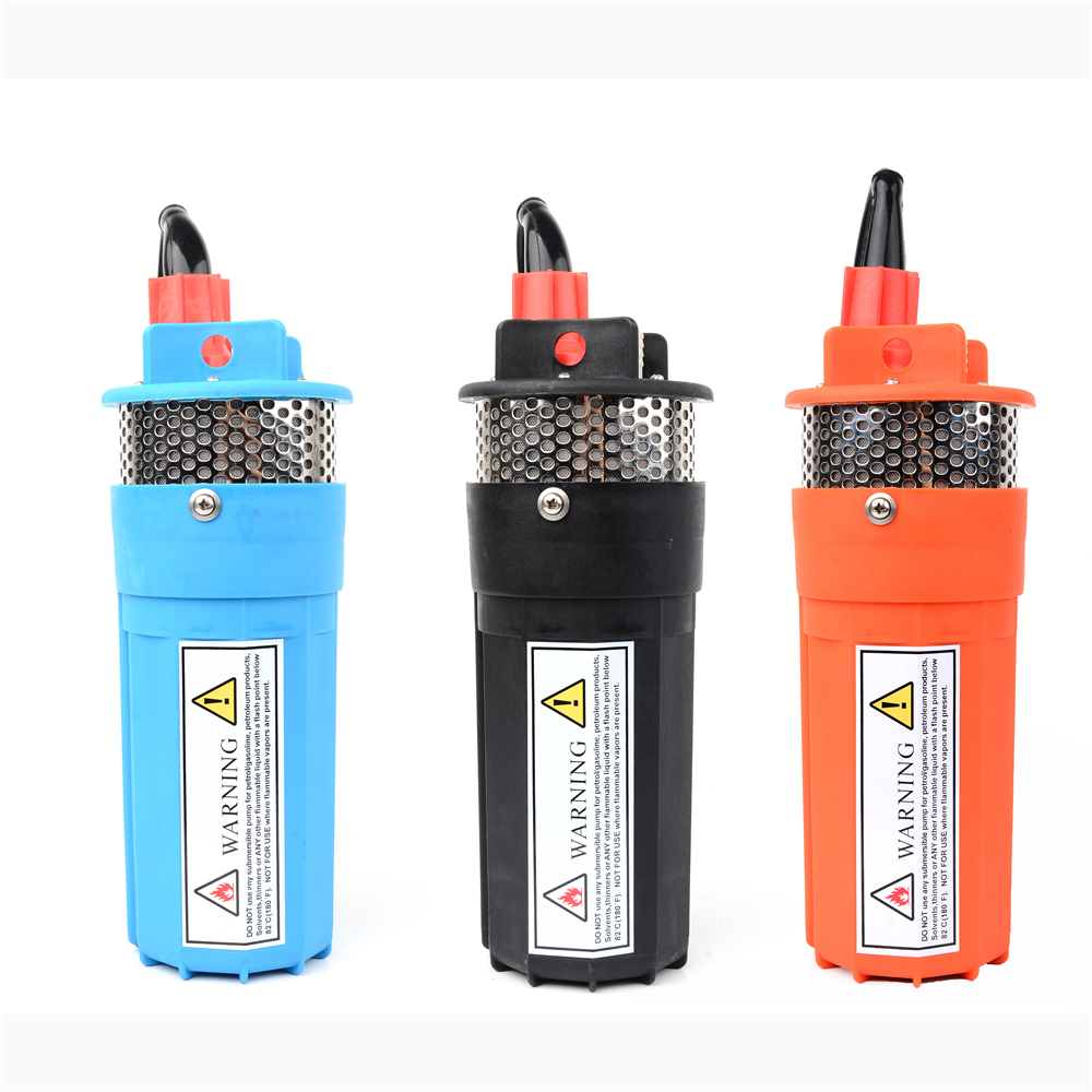 DC 12V 24V Mini Solar Electric Water Pump 360LPH 70M Deep well Submersible Mute super high pressure Outdoor Garden Household 12v dc electric mini water circulation pump brushless motor submersible pump for hydroponics medical cooling 280l h car styling
