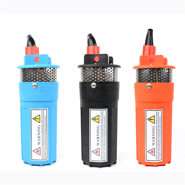 DC 12V 24V Mini Solar Electric Water Pump 360LPH 70M Deep well Submersible Mute super high pressure Outdoor Garden Household