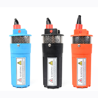 Household 12V 24V DC Mini Solar Energy Electric Water Pump Deep Well Submersible Mute Super High