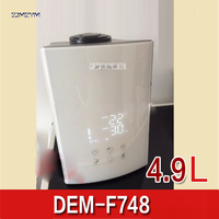 DEM F748 NEW Ultrasonic Humidifier 350ml/h White Smart Timing Ultrasonic Essential Oil Aroma Diffuser Air Humidifier Mist Maker