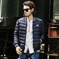 2016 nova moda de inverno branco para baixo homens jaqueta de marca de roupas top quality Grosso parkas quentes homens jaqueta de inverno casuais masculino casaco