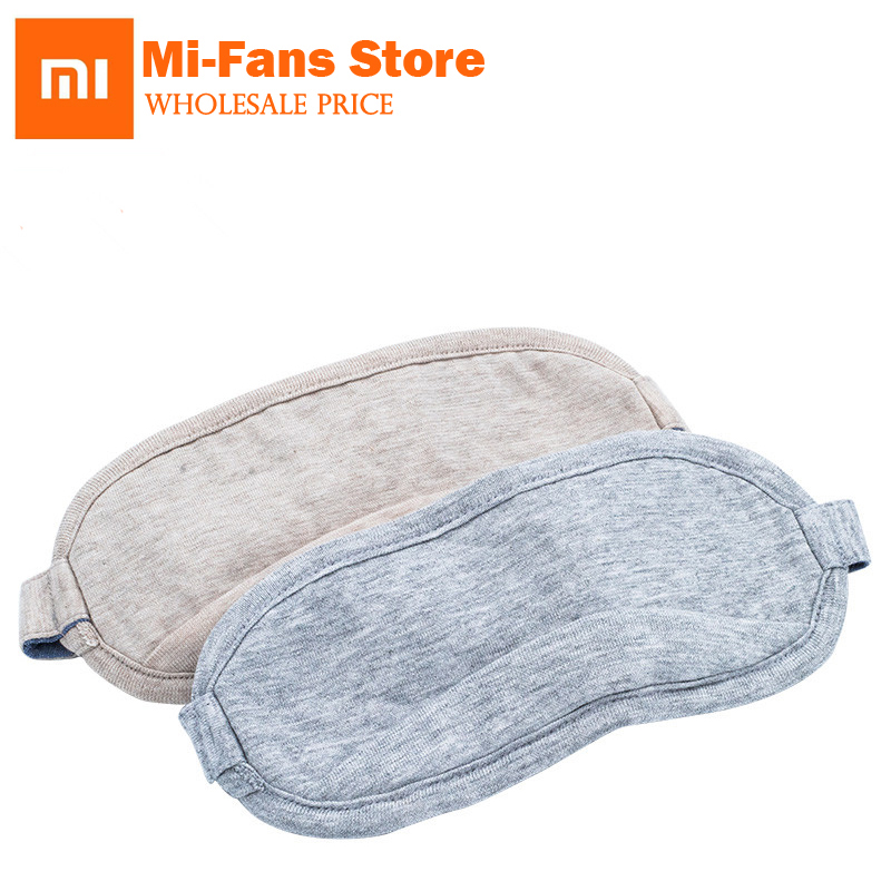 D'origine xiaomi mijia 8 H masque Pour Les Yeux Voyage Bureau Sommeil Reste L'aide Portable Respirant Sommeil Lunettes Couverture Sentir cool glace coton