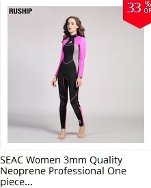 06f8dc6617 Hisea 1.5mm women neoprene wetsuit Elastic colour Surf Diving Equipment  suit clothing long-sleeved one piece fitted Warm surfing