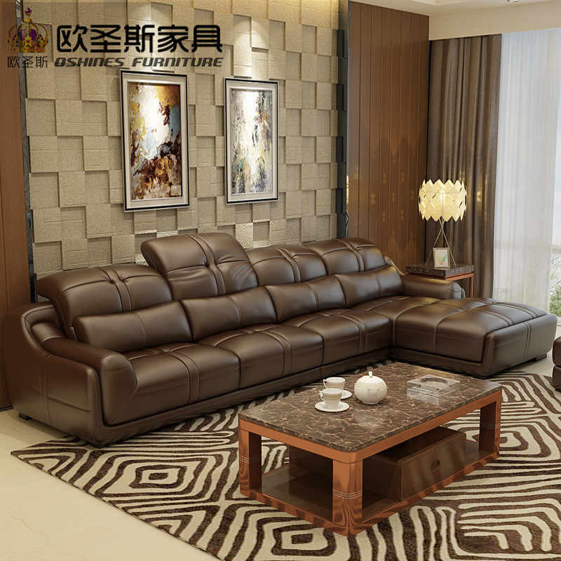 Detail Feedback Questions About Brown Leather Sofa Set Contemporary