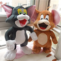 Tom And Jerry Plush Toy 55cm  Mouse Jerry and 60cm Cat Tom Doll Big Size Staffed Soft Toy 1pair/lot Factory Supply