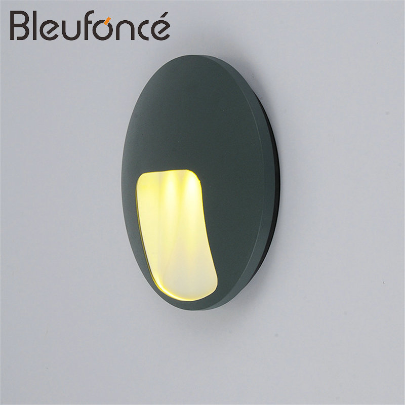 Outdoor Waterproof Aluminum Wall Lamp 3W LED Wall Light Wall Sconce Garden Light Modern Simple Lighting Outdoor Wall Lamps BL33 outdoor wall lights simple modern wall light waterproof led wall lamp luxury villa aluminum wall lamps hallway art deco lighting