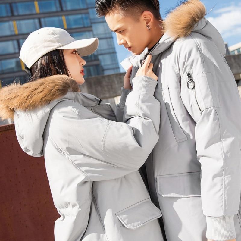 NO.1 DARA Fur Hooded Duck   Down   Jackets Men Warm Windproof waterproof   Down     Coats   Male Winter   Down   Jacket 2018 Hoodie Thick   Coat