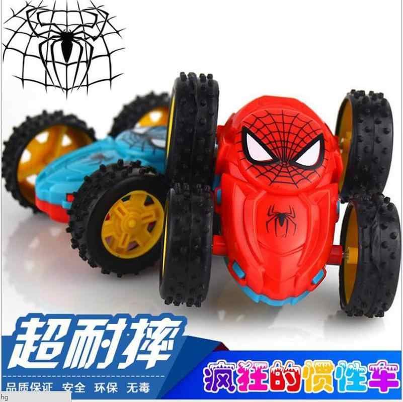 2019 NEW HOT Cool Double-sided Dump Truck Inertial Car 360 Rotation Resistance to fall off Children Fashion Birthday Gifts Toy