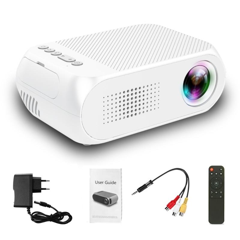 все цены на Video Conference System HD 1080P LED Home Multimedia Theater Cinema Mini Projector Portable Video Movie EU Plug