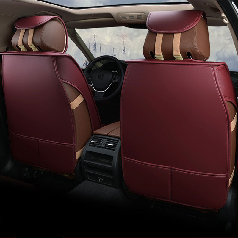 leather auto universal car seat cover covers for ford gentra lacetti lanos new fiesta mk7 edge everest s-max 2010 2011 2012 2013