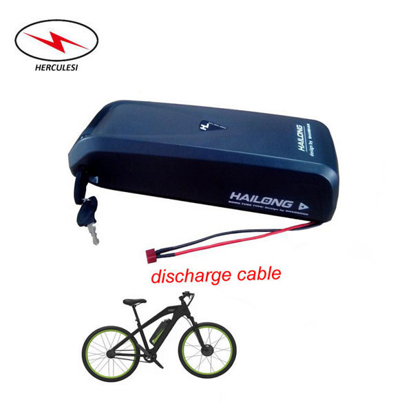 36V 15Ah 500W Hailong E-bike Li-ion Battery Pack DownTube for Electric Bicycle