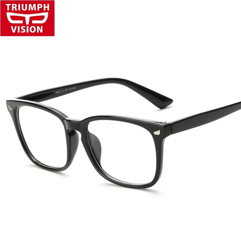 Vision Express Designer Glasses Frames : TRIUMPH VISION Rectangle Acetate Frame Eye Glasses Men ...