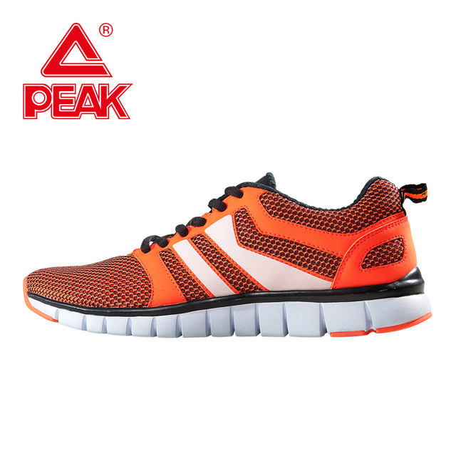 PEAK SPORT New Men Running Shoes Cushioning Jogging Training Sneakers Homme  Summer Mesh Breathable Lightweight Sports Shoes 70e907f64