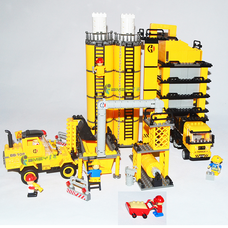 Подробнее о AIBOULLY New Model building kits city engineering project 8531 3D blocks Educational toys hobbies for children Free Shipping sluban new model building kits city engineering crane 889 3d blocks educational gift toys hobbies for children free shipping