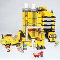 Banbao kits de edificio Modelo compatible con lepin ciudad ingeniería proyecto 8531 3D bloques Educativos juguetes y pasatiempos para niños