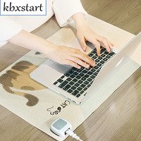 Warm Table Pat Desk Heater 220V Portable Winter Desktop Warmer Hand Table Pad Heating Film Office Desk Writing Heating Mouse Pad