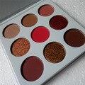 Nova Borgonha Brilho Fosco sombra de Olho Maquiagem Profissional Da Paleta Da Sombra Make up Set kyshadow cosméticos Paleta da sombra