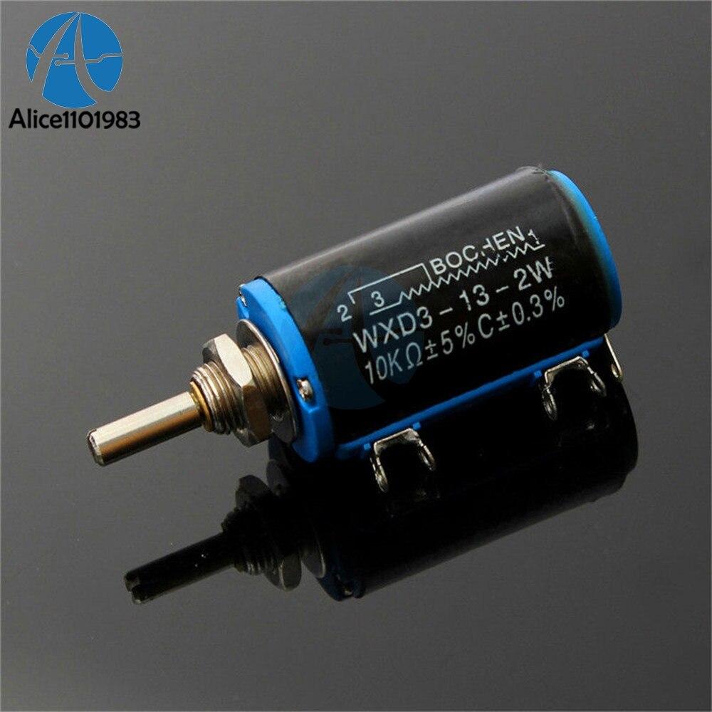 Grey Knob For WXD3-13-2W Multi-Turn Wirewound Potentiometer Dedicated 5Pcs