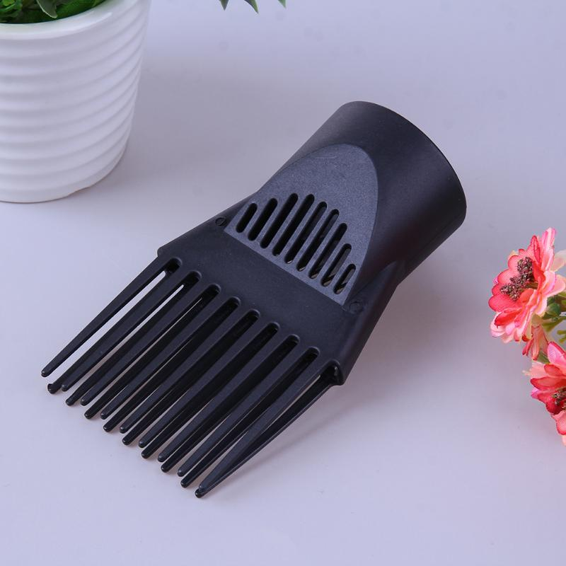 Flat Nozzle Comb Hair Straight Blow Tool Home DIY Hair Styling Straighten Tool Diffuser Blower Nozzle Comb