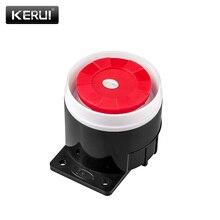 Kerui мини проводная сирена для беспроводной домашней сигнализации системы безопасности 120 дб громко сирена