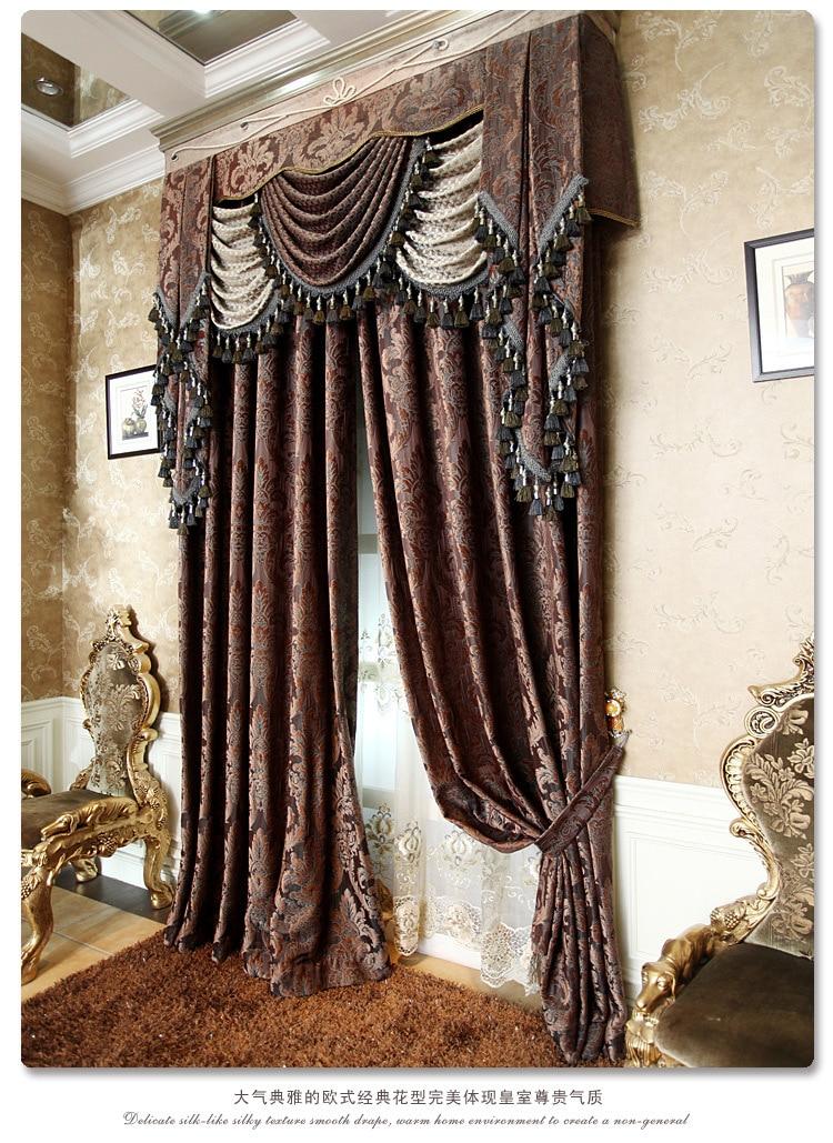 Duxton Upscale European Style Living Room Bedroom Curtains Custom DraperiesChina