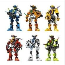 3pcs/set  2016 New arrive Children's building blocks assembled robot assembly stunning DIY Toys