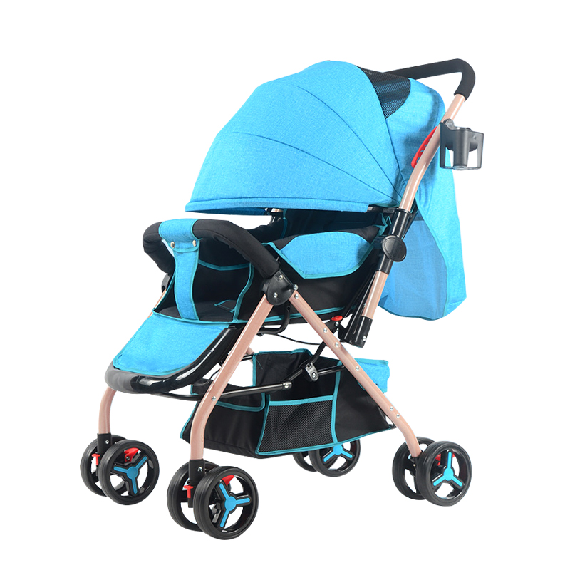High-Landscape Baby Stroller Pram Portable Folding baby Carriage Lightweight Travelling Pram Children Pushchair summer mosquito net travel folding portable four wheel cart carriage reversible car baby stroller lightweight pram pushchair