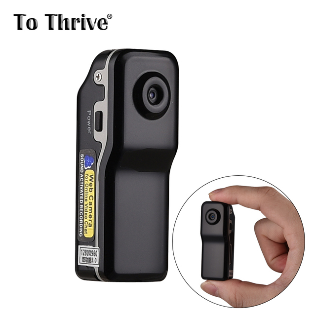 MD90s Mini Camcorders DV Action Camera DVR Sports Portable Video Audio Recorder Supports Motion Detection / Audio Detected