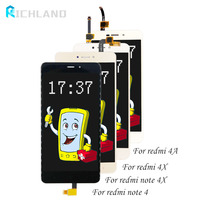 Richland No Dead Pixel LCD Screen For XIAOMI Redmi 4A 4X Display LCD Touch Screen Digitizer