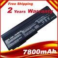 7800 mAH Batería Del Ordenador Portátil para Asus N53 N53S N53SV A32 M50 M50s A32-M50 A32-N61 A32-X64 A33-M50