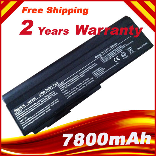 7800mAH Laptop Battery for Asus N53 A32 M50 M50s N53S N53SV A32-M50 A32-N61 A32-X64 A33-M50 kingwei 1pcs dc 16 8v 1a ac 100v 240v converter switching power adapter supply eu us uk plug charger for 18650 lithium battery