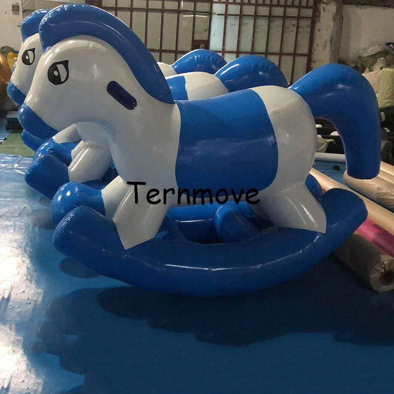Jeux de Sport poney gonflable Hop Pon poney monter, balade à bascule sur cheval jouet poney interactif gonflable enfants cheval à bascule