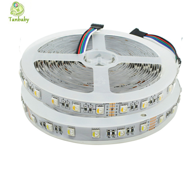 Tanbaby dc 12v 24v 4 in 1 rgbw rgbww led strip light smd 5050 60 tanbaby dc 12v 24v 4 in 1 rgbw rgbww led strip light smd 5050 60 led mozeypictures Choice Image