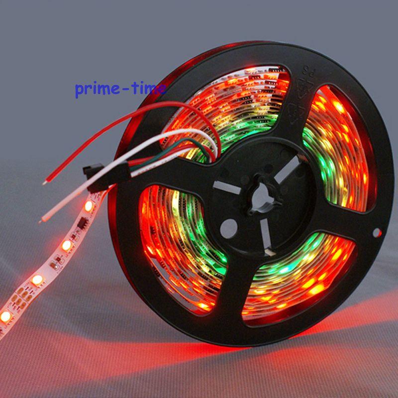 5m ws2811 led zolaq 60 led / m 12V, 20pcs ws2811 ic / metr (20piksel) - LED işıqlandırma - Fotoqrafiya 4